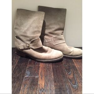 J. Crew Suede Short Boots